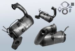 Dieselpartikelfilter RENAULT Capture 1.5 dCi 90 (J5)