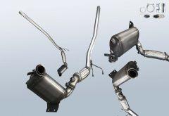 Dieselpartikelfilter VW Caddy 1.9 TDI 4motion (2KA,2KH,2CA,2CH)