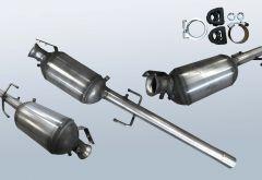 Dieselpartikelfilter MERCEDES BENZ Vito 109 CDI (W639701)