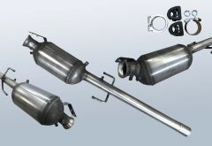 Dieselpartikelfilter MERCEDES BENZ Vito 109 CDI (W639603)