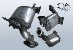 Dieselpartikelfilter CITROEN Jumpy III 1.6 HDI 8v
