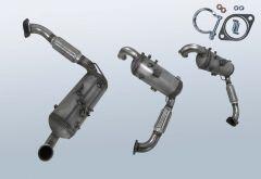 Dieselpartikelfilter FORD Focus III 1.6 TDCI (CB8)