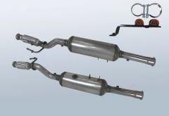 Dieselpartikelfilter CITROEN Jumpy 2.0 HDI (VF7)