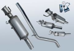 Dieselpartikelfilter MERCEDES BENZ B180 CDI (W246200)