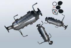 Dieselpartikelfilter MAZDA CX-7 2.2 MZR-CD (ER)