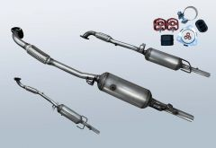 Dieselpartikelfilter OPEL Astra H 1.7 CDTI (L70)
