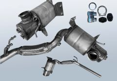 Dieselpartikelfilter AUDI A1 Sportback 2.0 TDI (8XA 8XF)