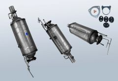 Dieselpartikelfilter CITROEN Jumper II 3.0 HDI 155 (250)